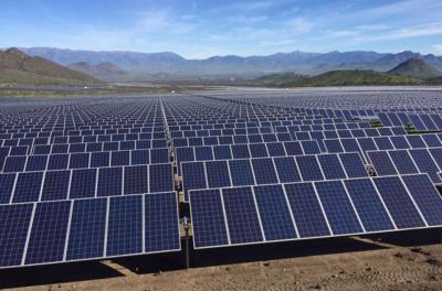 energia, solar, colina, radio, chicureo